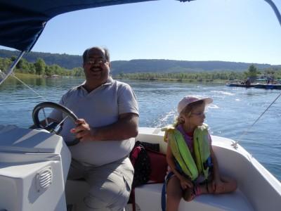 Balade en bateau - Verdon - En Chemin
