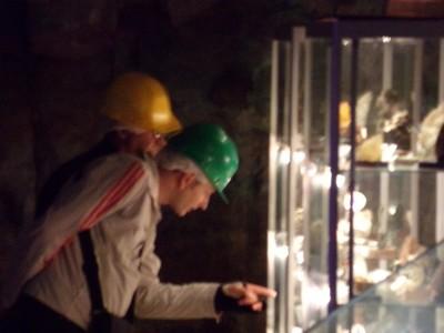 Observation minéraux Mine Cap Garonne