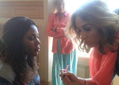 Cours de Maquillage - atelier socio-esthétique